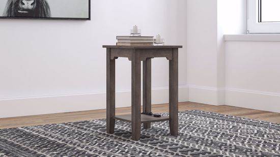 Picture of Arlenbry Gray Chairside Table
