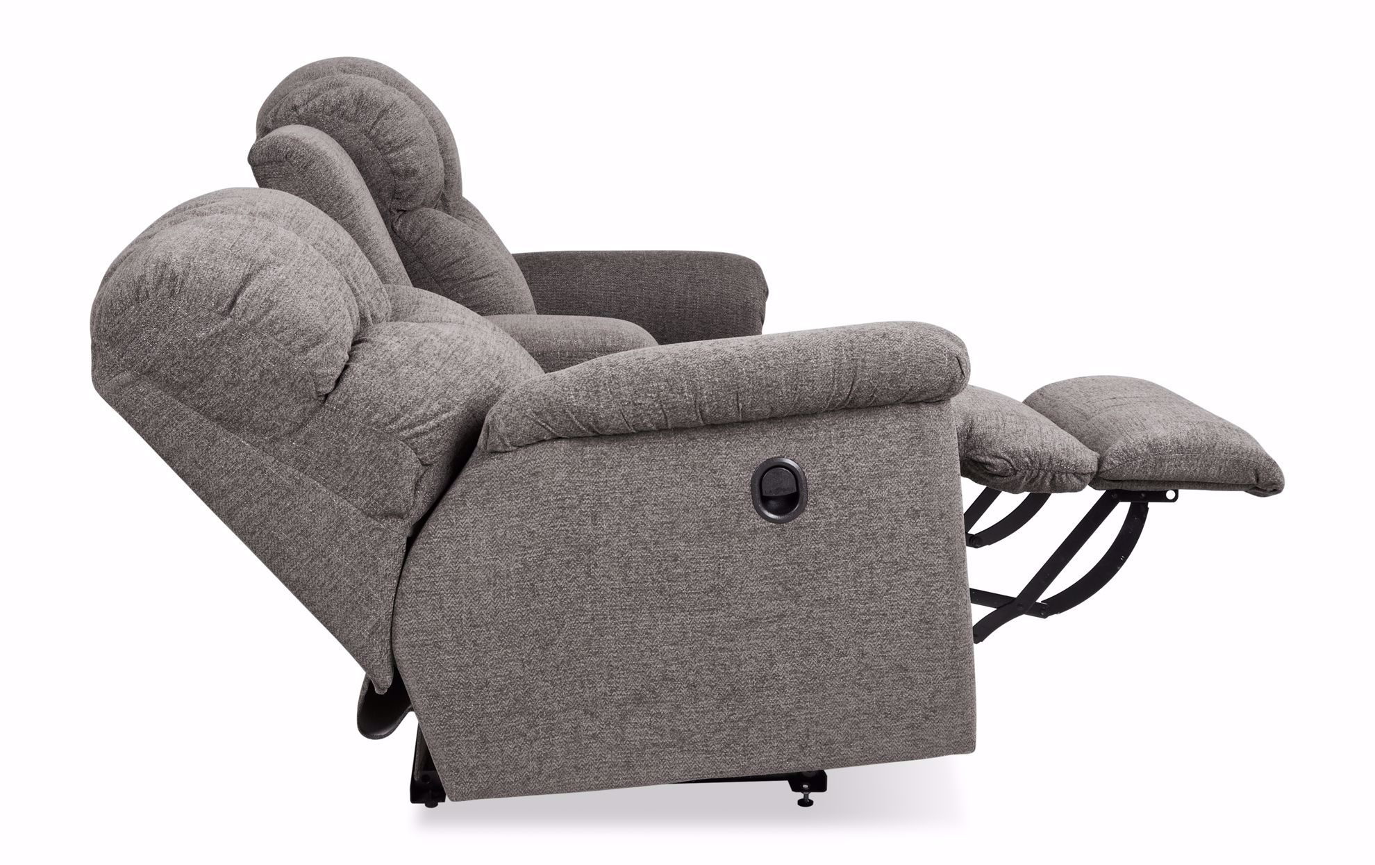Picture of Lancer Metal Reclining Loveseat with Console