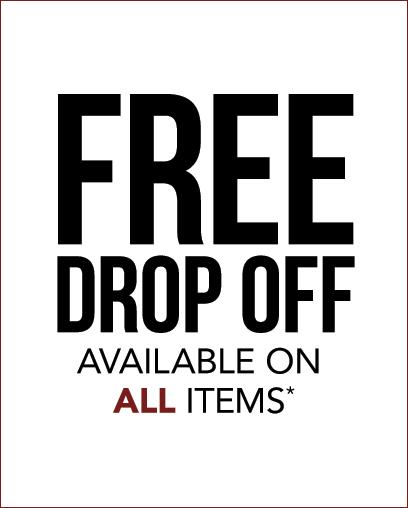 Free Drop Off*