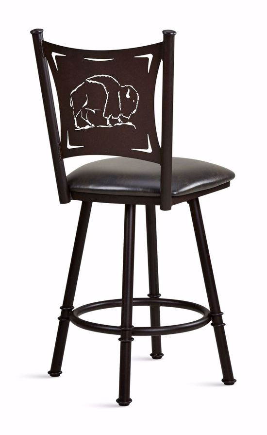 Picture of Creation I Black Counter Stool