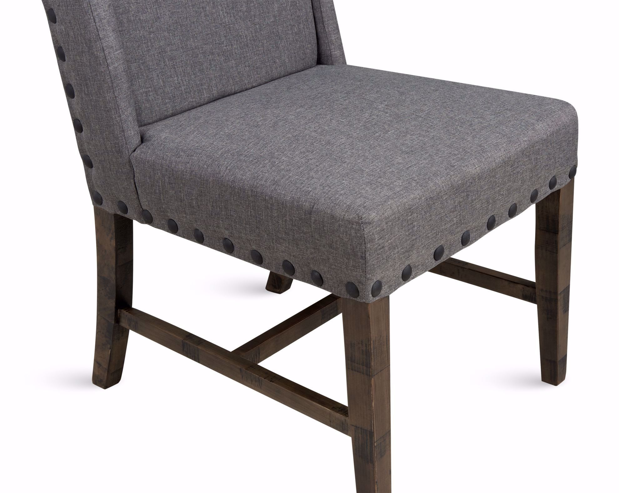 Picture of Loft Brown Grey Upholstered Chair
