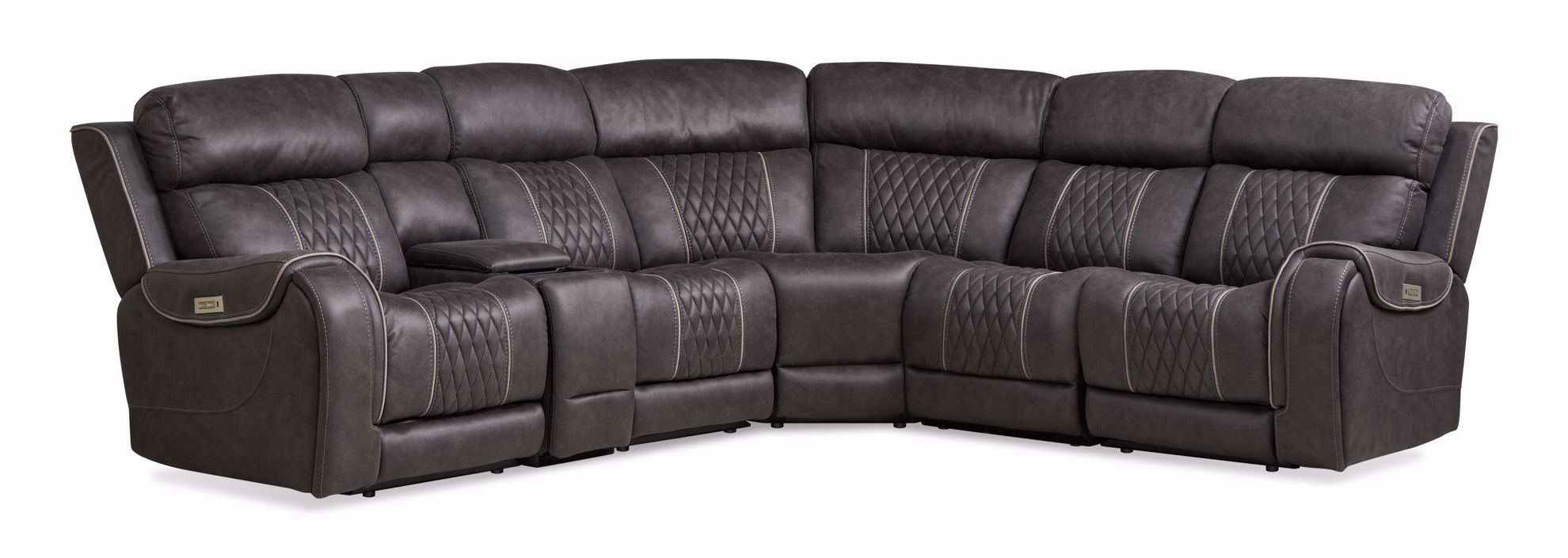 Picture of Bandera Grey 6-Piece Sectional