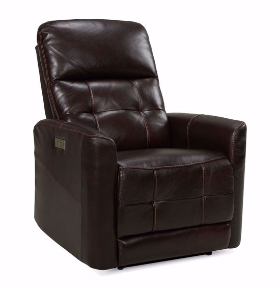 Picture of Madison County Walnut Zero Wall Power Recliner