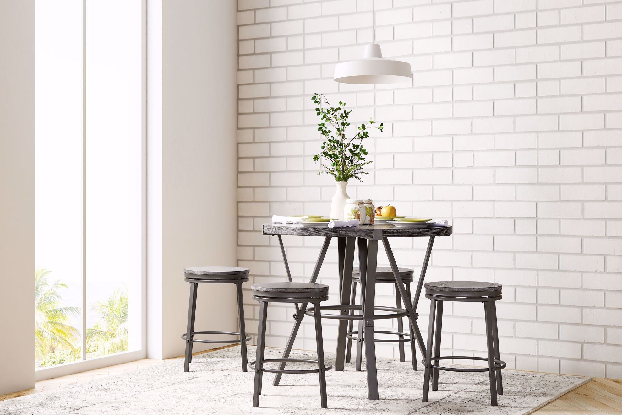 Picture of Portland Round Counter Stool