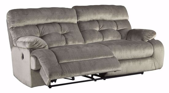 Picture of Brassville Graystone Power Reclining Sofa