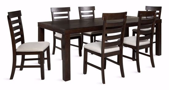 Picture of Colorado Dining Table with Six Chairs