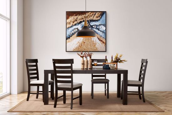 Picture of Colorado Dining Table & 4 Chairs
