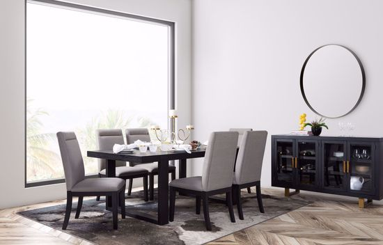 Picture of Yves Dining Table and Six Chairs