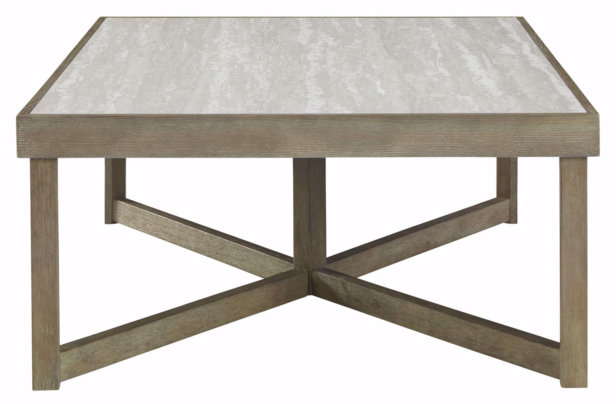 Picture of Challene Light Grey Rectangle Cocktail Table