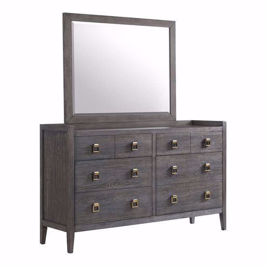 Picture of Portia Dresser & Mirror