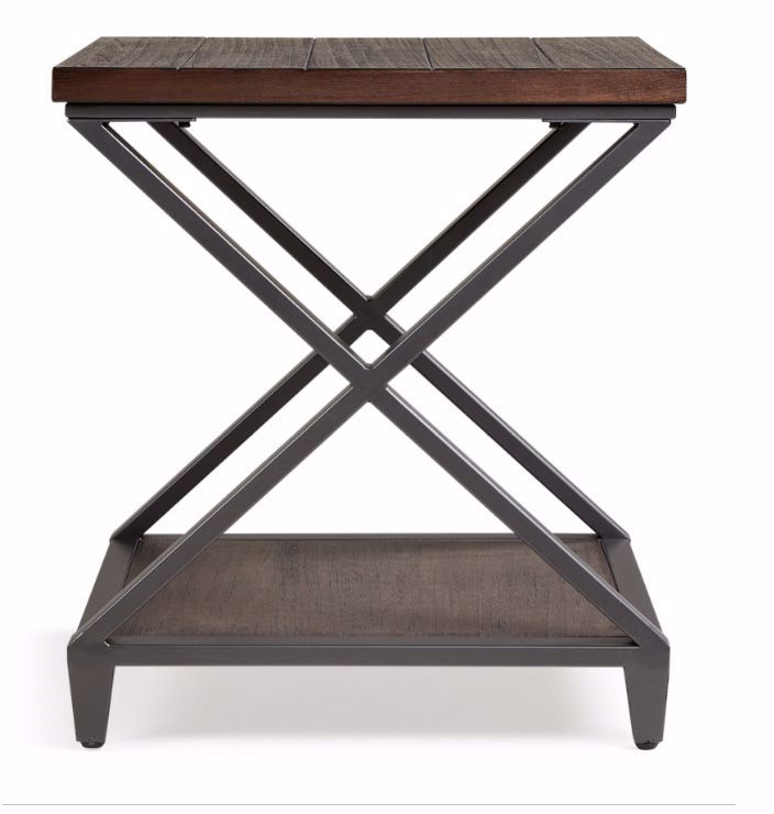 Picture of Alex Wood-Metal End Table