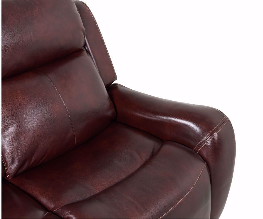 Picture of Molly Mahogany Power Reclining Loveseat with Console