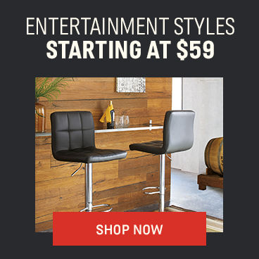 Entertainment Styles starting at $59
