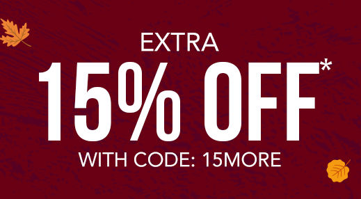 Extra 15% off* with code: 15FORME