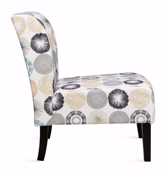 Picture of Triptis Gray Tan Accent Chair