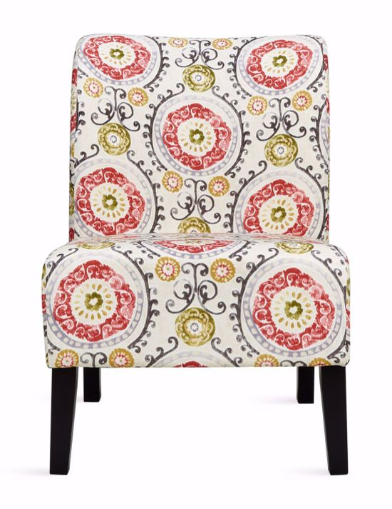 Picture of Honnally Floral Accent Chair