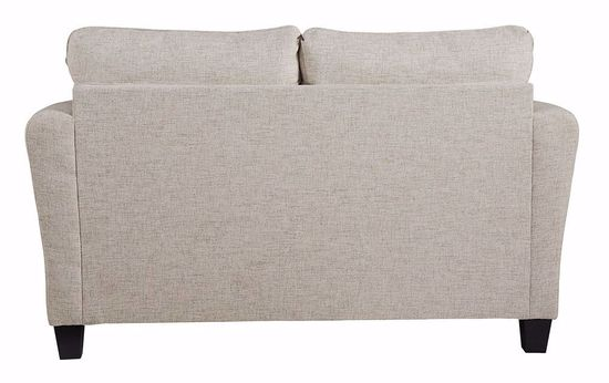 Picture of Alcona Linen Loveseat