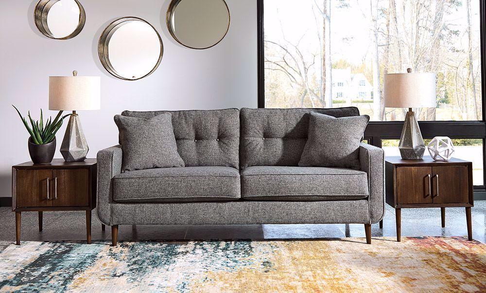 Picture of Zardoni Charcoal Sofa