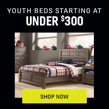 Youth Beds Starting at Under $300