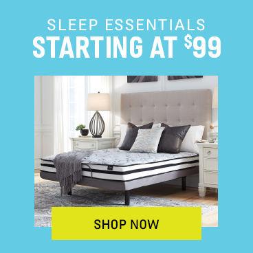 Sleep Essentials Starting at Under $100
