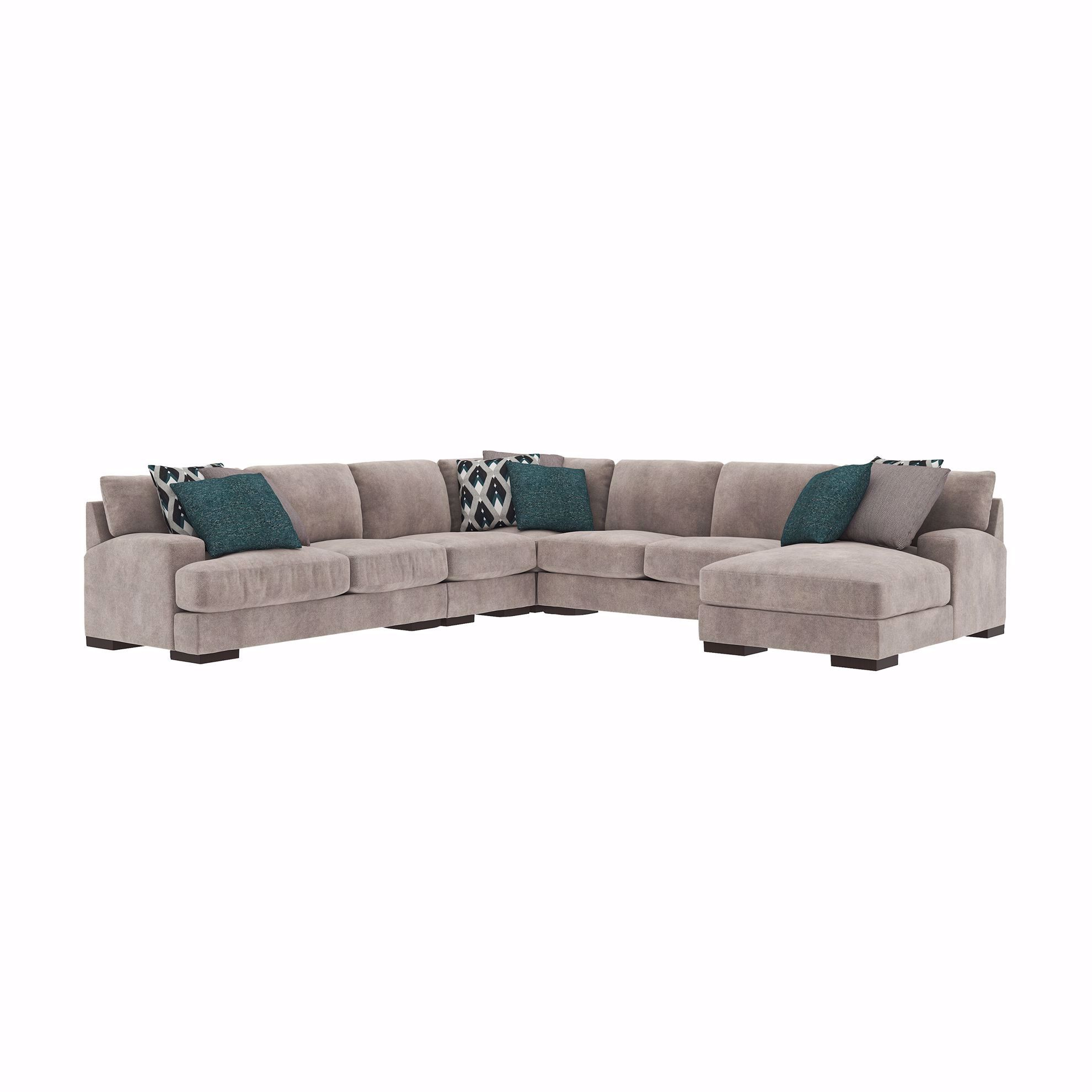 Picture of Bardarson Silver 5-Piece Sectional