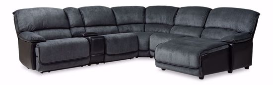Picture of River Kohl Black 6-Piece Sectional