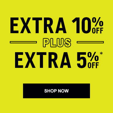 Extra 10% off* + Extra 5% Off (Shop Now)