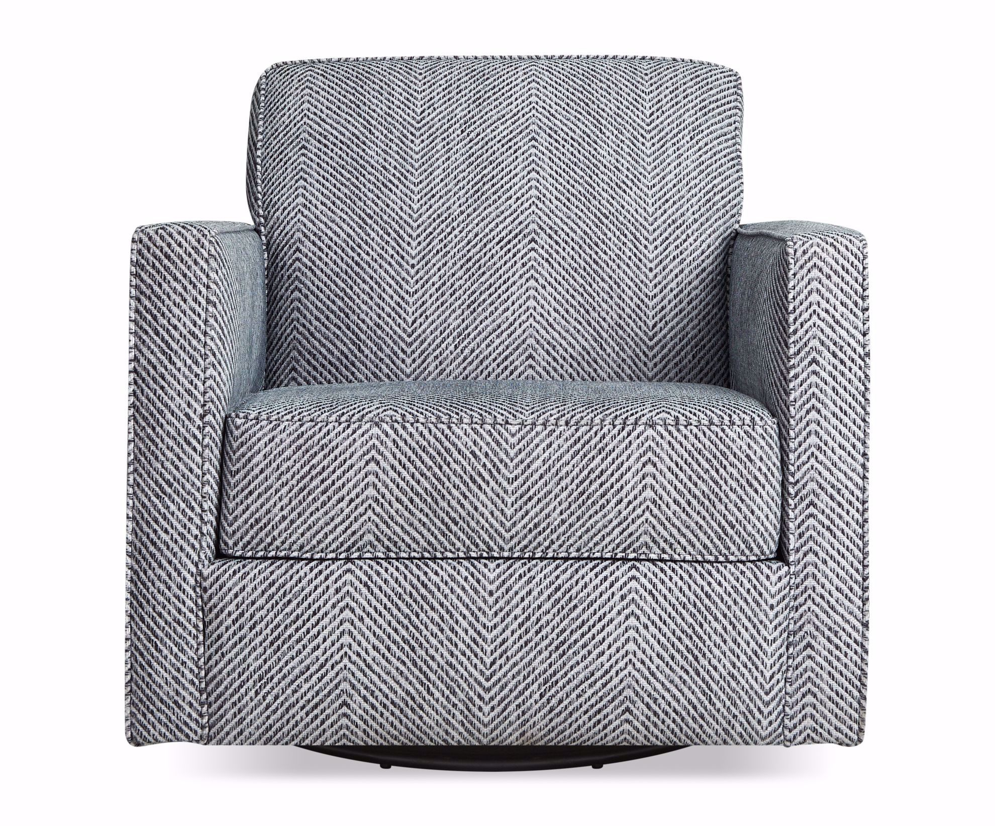 Picture of Ropestitch Black Swivel Chair