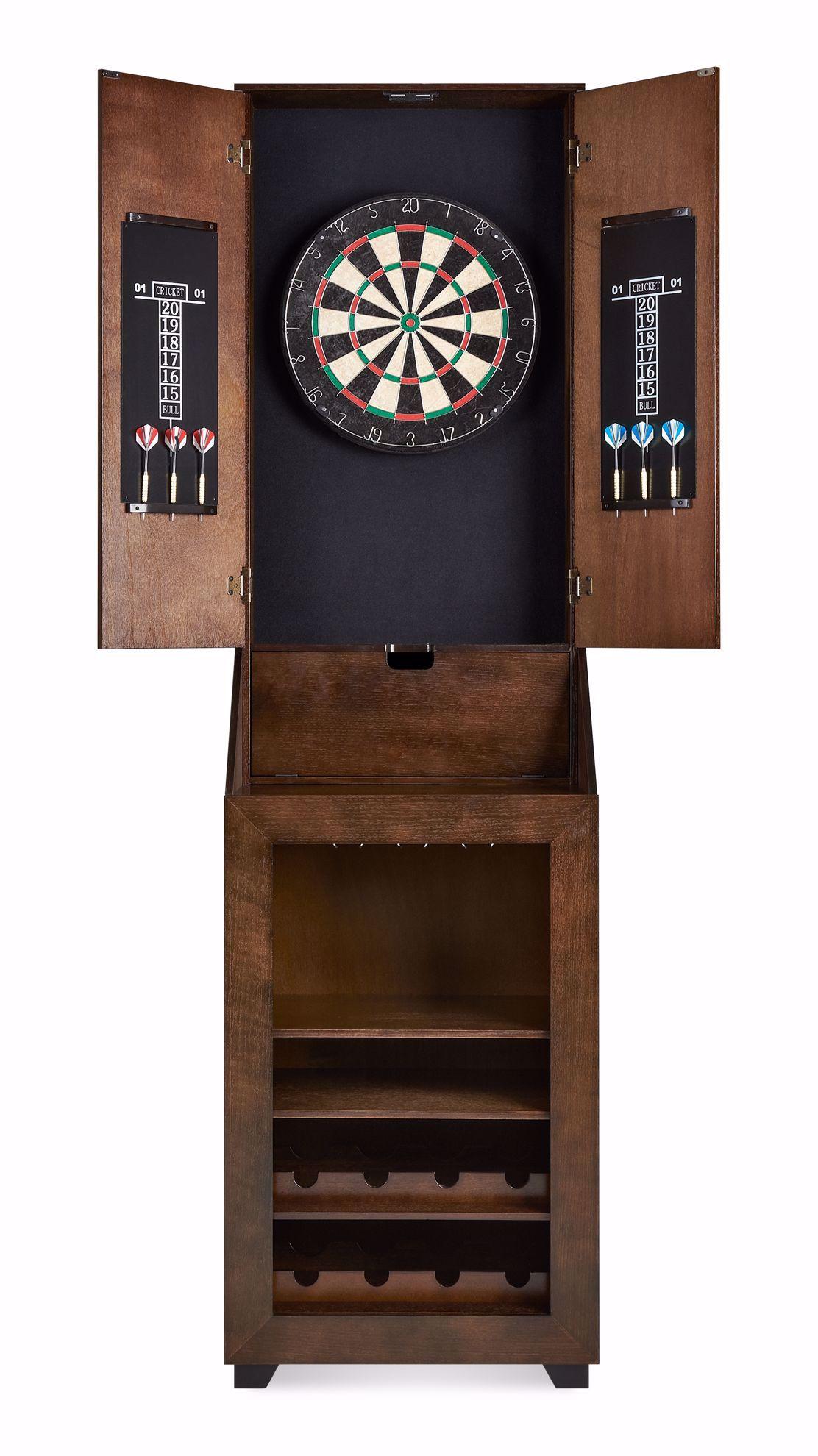 Picture of Bones Dart Board Cabinet
