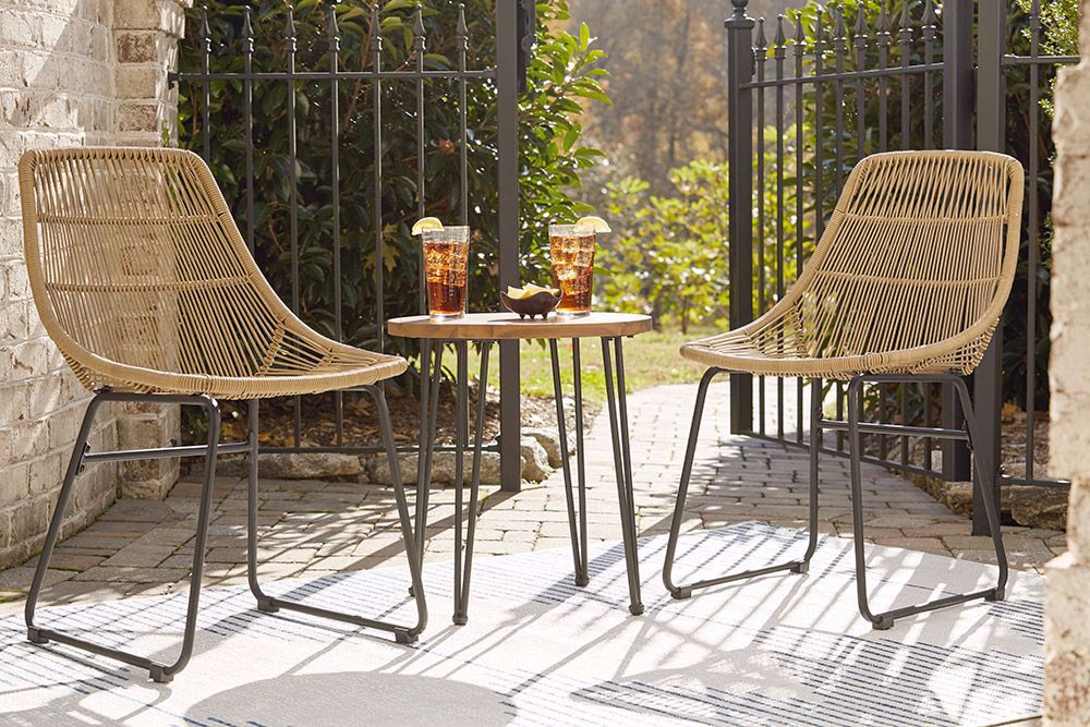 Picture of Coral Sand End Table & Chairs Set