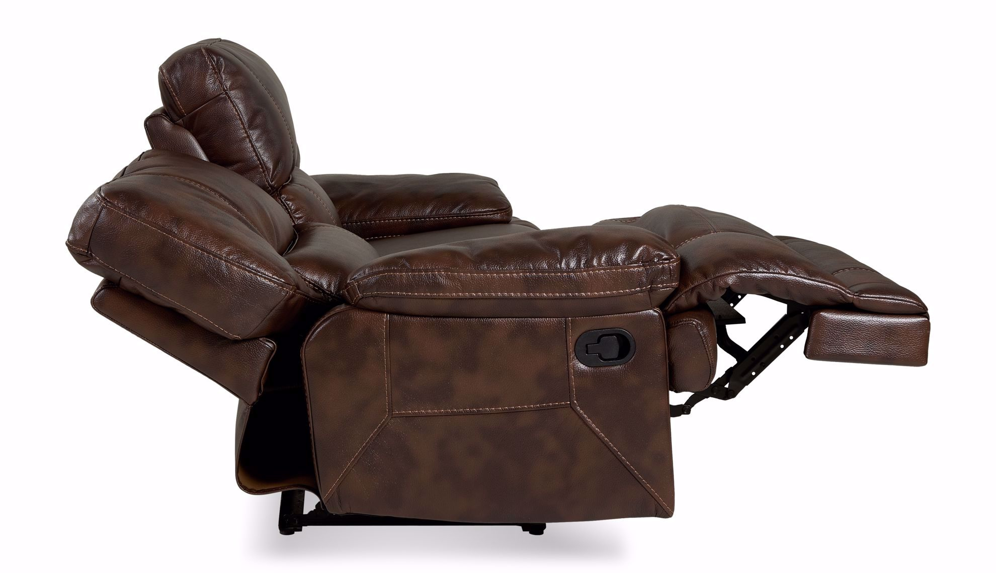 Picture of Kira Tobacco Reclining Loveseat