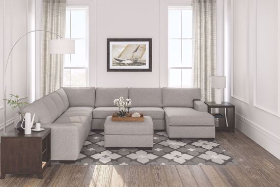 Picture of Ashlor Slate 4-Piece Sectional