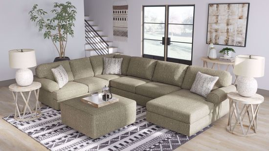 Picture of Hoylake Chocolate 3-Piece Sectional