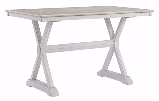 Picture of Teganville Counter Height Table, 4 Stools, & 1 Bench
