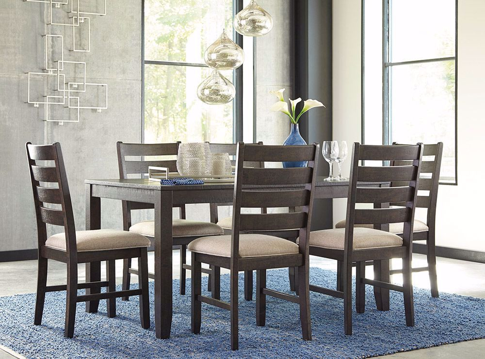 Picture of Rokane Dining Table with 6 Chairs Set