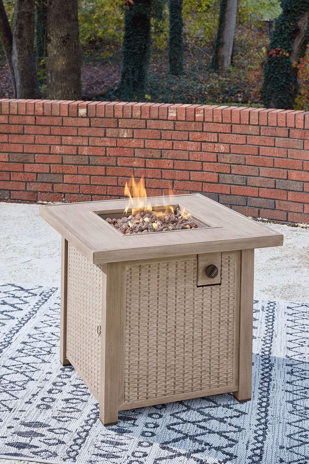 Picture of Lyle Square Firepit Table