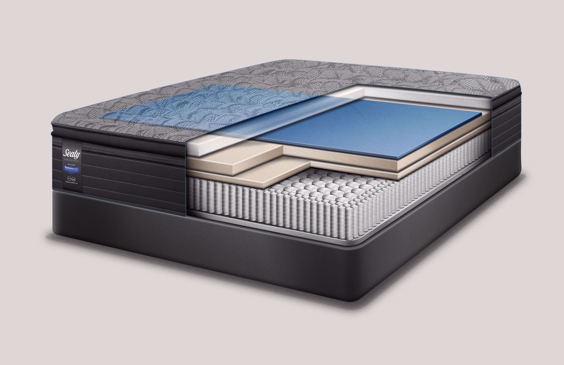 Picture of Sealy Elm Avenue Firm Queen Mattress