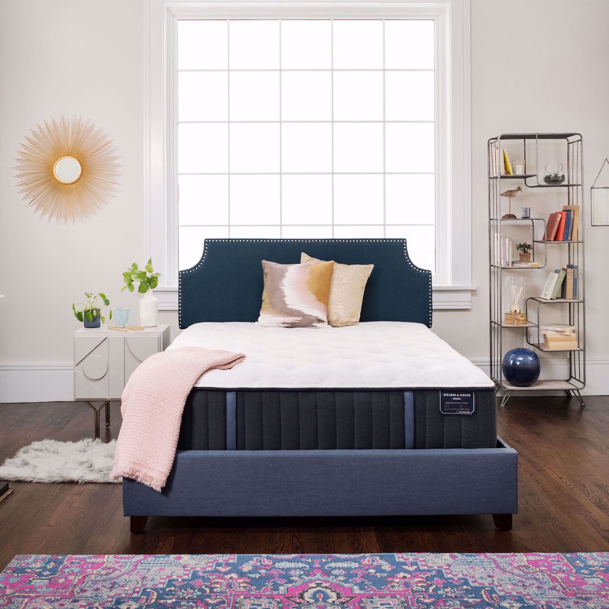 Picture of Stearns and Foster Hurston Luxury Cushion Firm Queen Mattress