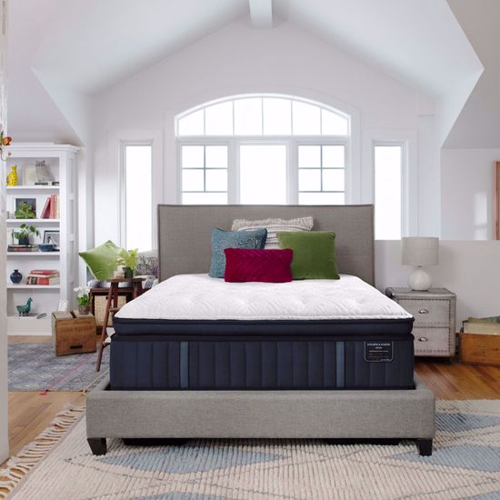Picture of Stearns & Foster Rockwell Luxury Plush Euro Pillowtop Queen Mattress