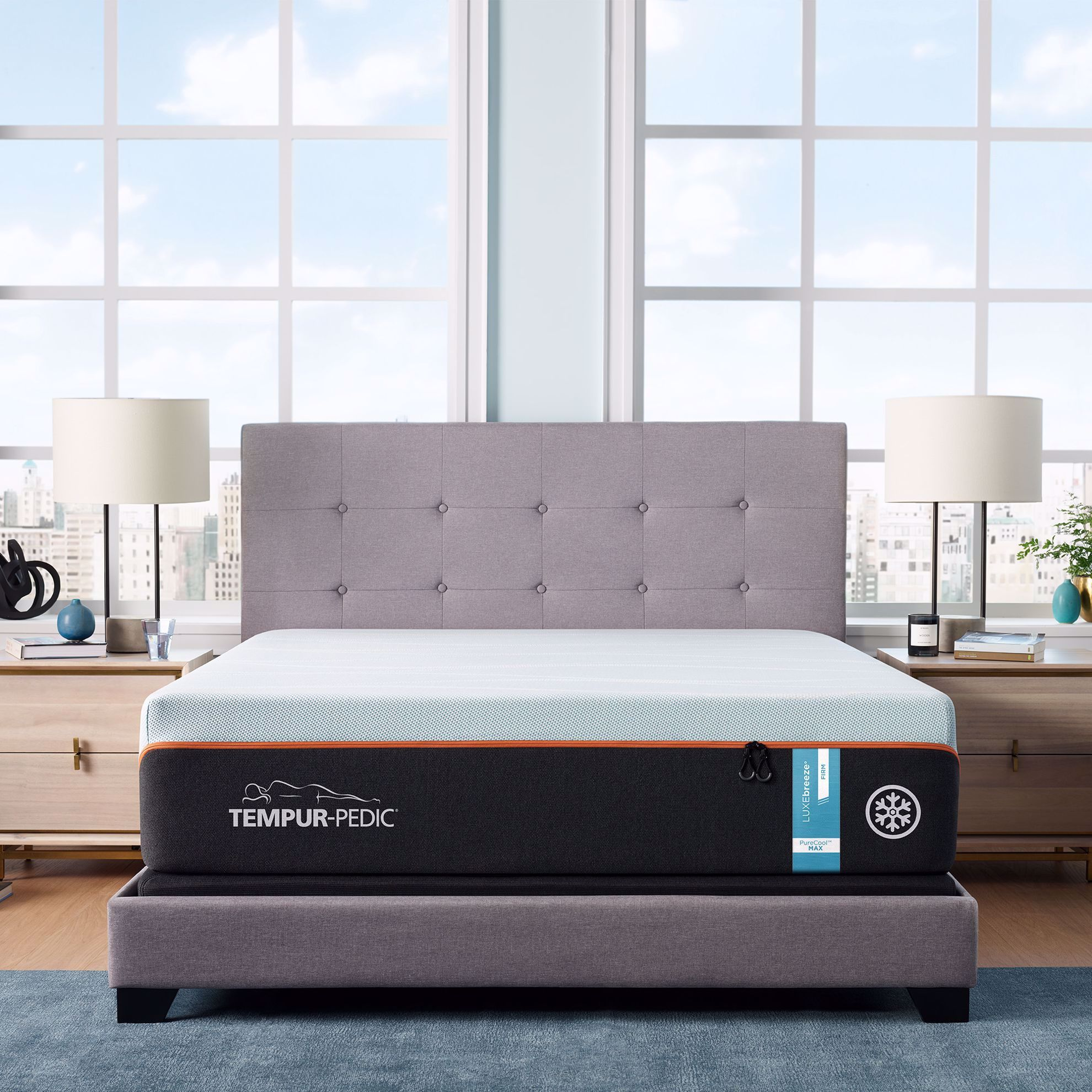 Picture of Tempur-Pedic Luxe Breeze Firm Queen Mattress