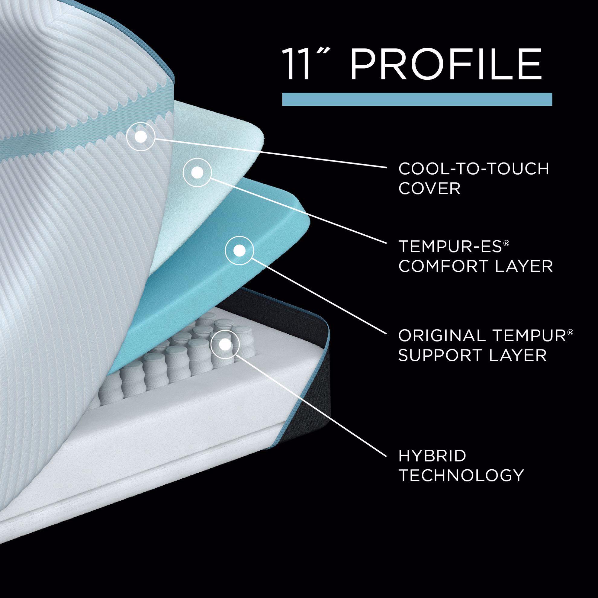 Picture of Tempur-Pedic Adapt Medium Hybrid Twin XL Mattress
