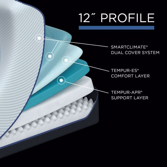 Picture of Tempur-Pedic Pro Adapt Soft Twin XL Mattress