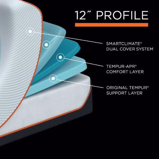 Picture of Tempur-Pedic Pro Adapt Firm Twin XL Mattress