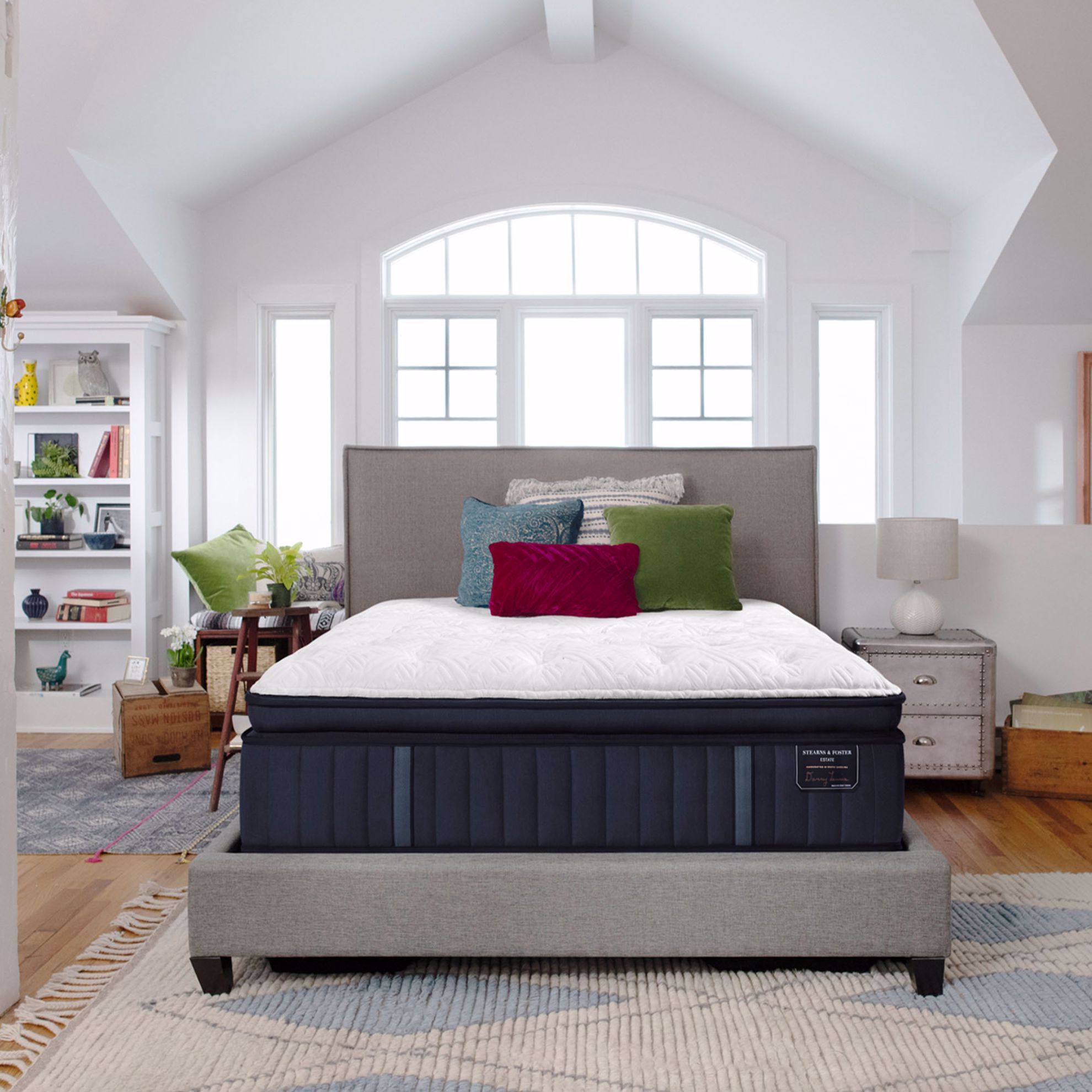 Picture of Stearns & Foster Rockwell Luxury Plush Euro Pillowtop California King Mattress