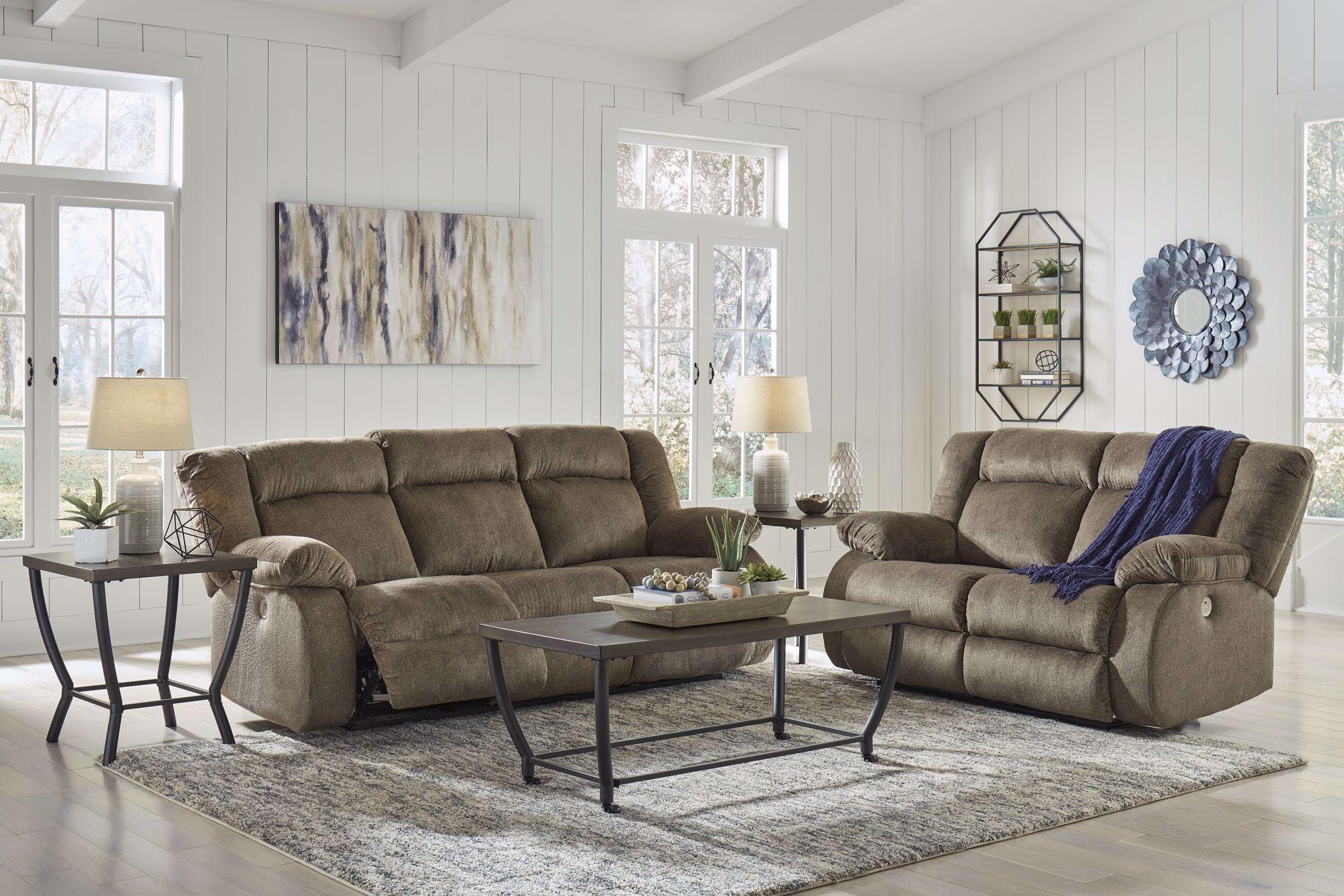 Picture of Burkner Mocha Power Reclining Sofa