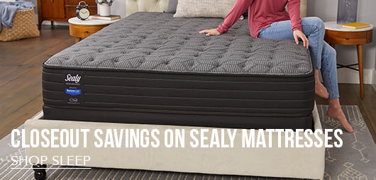 Closeout Savings on Must-Have Sealy Mattresses