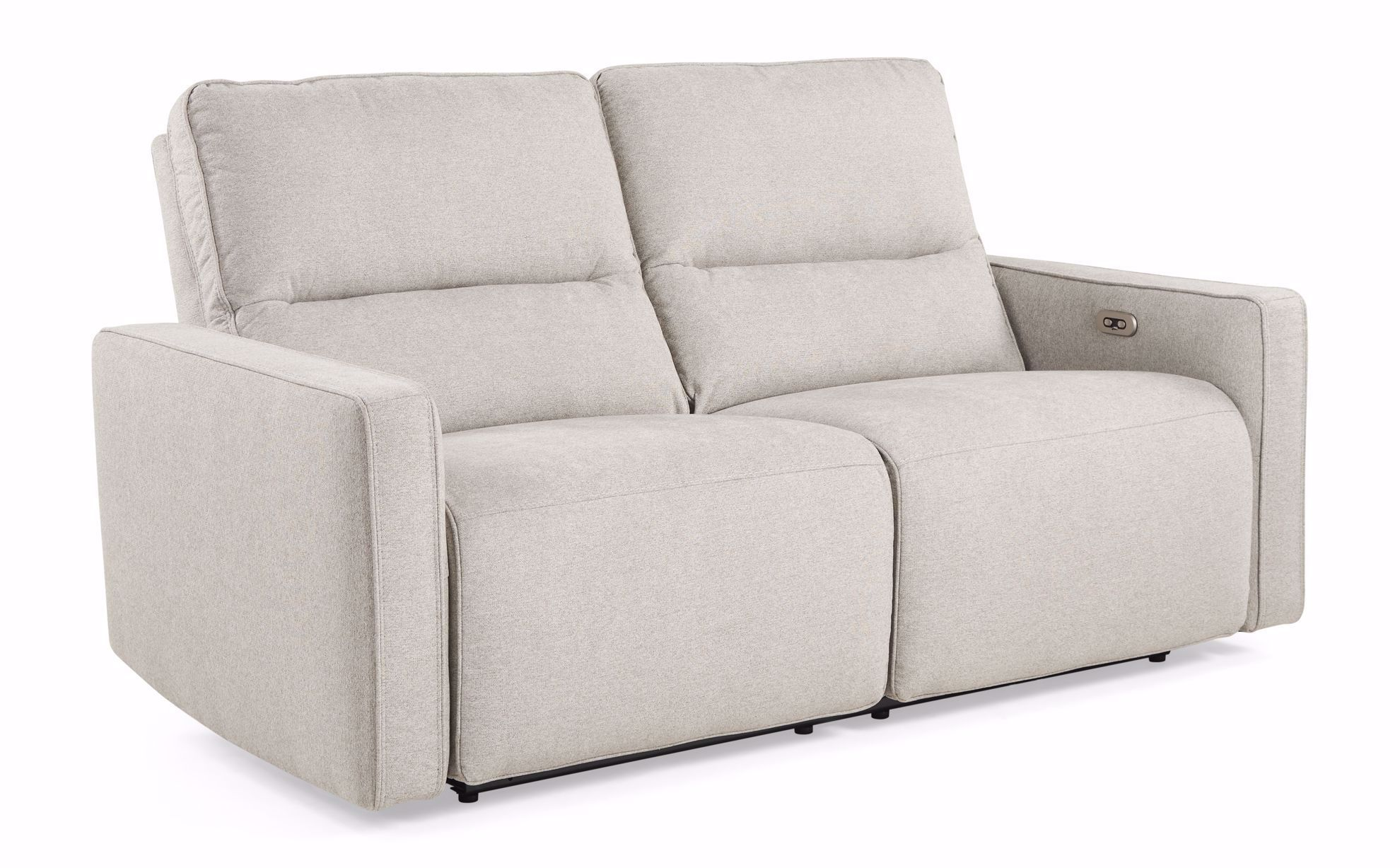 Picture of Dove Gray Power Headrest & Reclining Sofa