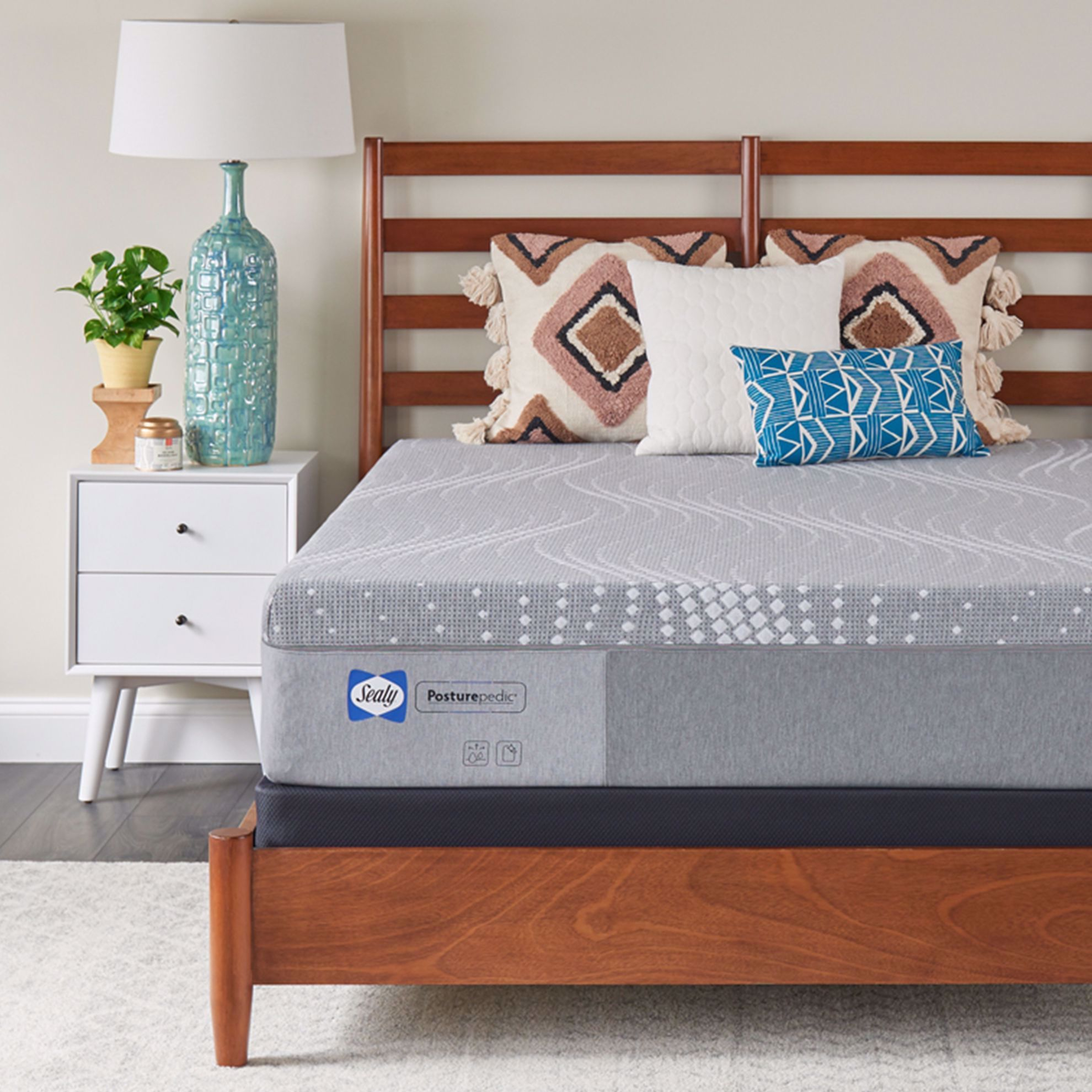 """Picture of Sealy Posturpedic 12"""" King Mattress-in-a-Box"""