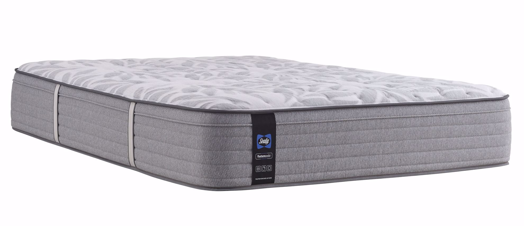 Picture of Posturpedic Silver Pine Medium Faux Euro Pillowtop Twin Mattress