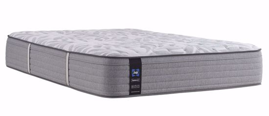 Picture of Posturpedic Silver Pine Medium Faux Euro Pillowtop Queen Mattress